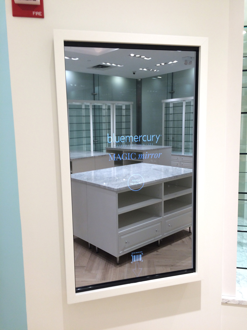 Bluemercury The Cube Flagship Store #16 July 14 2017 Bluemercury video wall