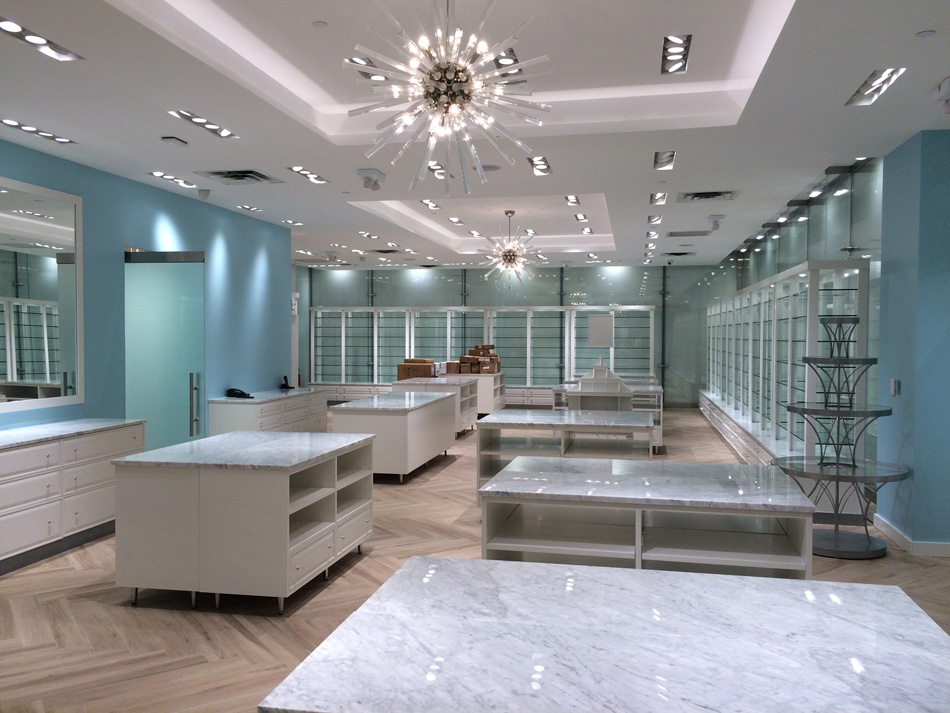 Bluemercury The Cube Flagship Store #6 July 14 2017 Sales are north elevation 54th street